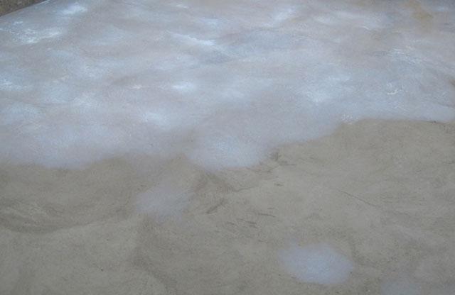 Passo 2 - Imprimação no chão e paredes